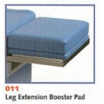 UMF leg extension booster pad