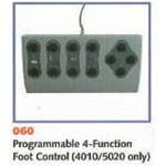 UMF 4 Function Programmable Foot Control for 5020 and 4010
