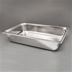 Sklar Perforated Tray - 20 3/4' x 12 3/4' x 4' (Pack of 12)