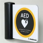 AED T-Mount Location Sign