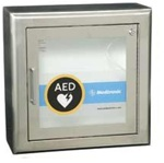 AED Stainless Steel Wall Cabinet