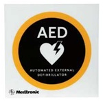AED Wall Placard