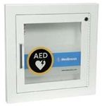 AED Recessed Wall Cabinet w/ Alarm