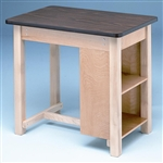 Bailey End Shelved Taping Table