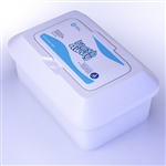 Flushable Wipes 9x13 (Junior) flow pack - 12/24Cs