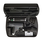 <!020>Ophthalmic Set with Coaxial Plus Ophthalmoscope, Streak Retinoscope, Lithium Ion Handle and Hard Case