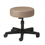 Clinton Style-Line Series 5-Leg Spin Lift Stool with Black Nylon Base