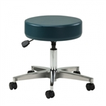 Clinton Select Series Pneumatic 5-Leg Stool with Aluminum Base