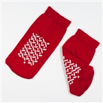 Double Sided Slipper Socks, Small-48/Cs