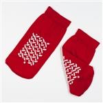 Double Sided Slipper Socks, Small-48/Cs