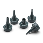 Set of Five Reusable Ear Specula for Pneumatic, Operating and Consulting Otoscopesù2, 3, 4, 5 and 9 mm