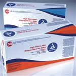 <!030>High Risk Latex Exam Glove P/F-Lg 10 mil 10/50/Cs
