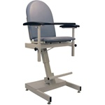 Winco Power Designer Blood Drawing Chair - Fiberglass Seat