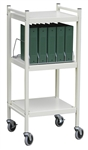 OmnicartÖ Mini Vertical Chart Racks