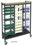 OmnicartÖ Flat Big Beam Storage Chart Racks