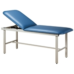 Clinton ETA Alpha Series Straight Line Treatment Table with H-Brace