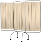 Winco Privess Basic 3 Panel Privacy Screen w/ Sure-Chek