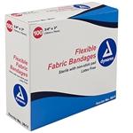 <!040>Adhesive Fabric Bandages, Fingertip 1.75' x 2, Sterile-24/100/Cs