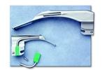 ADC Medium Adult Macintosh Fiber Optic Laryngoscope Blade Size 3 4073F