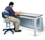 Hausmann Series 4082 Combination Treatment/Work Table/Desk