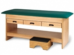 Hausmann Series 4298 Treatment Table with Pull-Out Footstool