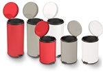 Brewer Round Steel Waste Cans