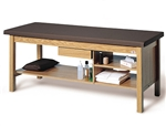 Hausmann Series 4541 Professional Treatment Table w/ Three Shelves