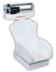 Detecto Mechanical Pediatric Scale with Inclined Chair Seat