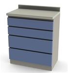 UMF Modular Cabinets, 30' Base Cabinet, 4 Drawer