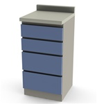 UMF Modular Cabinets, 18' Base Cabinet, 4 Drawer
