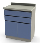 UMF Modular Cabinets, 30' Base Cabinet 2 Drawers, 2 Doors