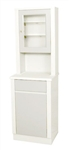 UMF Treatment Cabinet with upper cabinet section, 1 door, 1 shelf, 20'W x 65'H x 16.25'D
