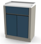 UMF Treatment Cabinet, 2 doors, 1 shelf, 25.25'W x 34'H x 16.25'D