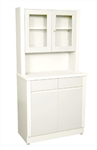 UMF Treatment Cabinet w/ upper cabinet section, 2doors, 2 drawers, 1 shelf, 32'W x 65'H x 16.25'D