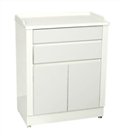 UMF Treatment Cabinet, 2 doors, 2 drawers, 1 shelf, 27'W x 34'H x 16.5'D