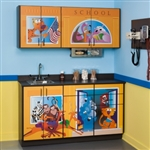 Clinton Theme Series 'School House' Cabinets