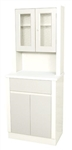 UMF Treatment Cabinet w/upper cabinet section, 2 doors, 1 drawer, 1 shelf, 25.25'W x 65'H x 16.25'D