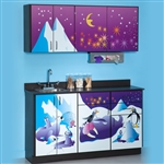 Clinton Theme Series 'Cool Pals' Cabinets