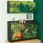 Clinton Theme Series 'Rainforest Follies' Cabinets