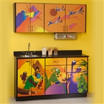 Clinton Theme Series 'Dino Days' Cabinets