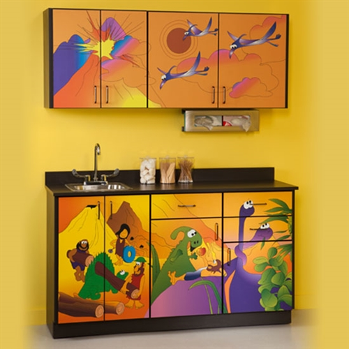 "Clinton Theme Series ""Dino Days"" Cabinets"