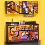Clinton Theme Series 'Alley Cats' Cabinets