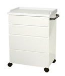 UMF Treatment Cabinet (Mobile), 4 drawers, 25'W x 34.75'H x 18'D