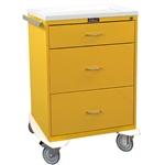 Classic Line, Three Drawer, Isolation Cart