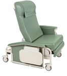 Winco XL Drop Arm Care Cliner (Steel Casters)