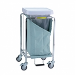 R&B Single Easy Access Laundry Hamper
