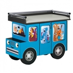 Clinton Fun Series Pediatric Table: Outback Buggy with Aussie Animal Pals