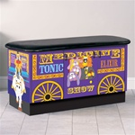 Clinton Fun Series Pediatric Table: Medicine Show Wagon