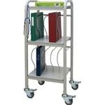 Winco Ring Binder Cart, 15 - 2' Binder Capacity