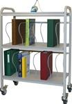 Winco Ring Binder Cart, 16 - 3' Binder Capacity